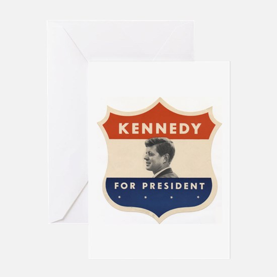 JFK '60 Shield Greeting Card