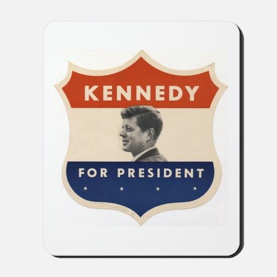 JFK '60 Shield Mousepad