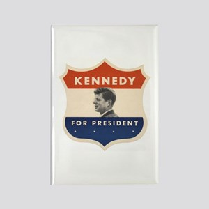 JFK '60 Shield Rectangle Magnet
