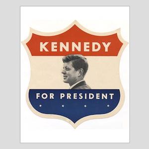 JFK '60 Shield Small Poster
