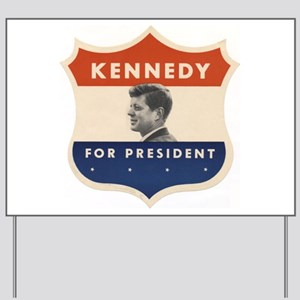 JFK '60 Shield Yard Sign