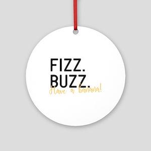 Fizz Buzz Round Ornament