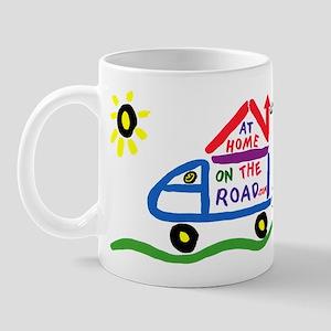 At Home on The Road Mug
