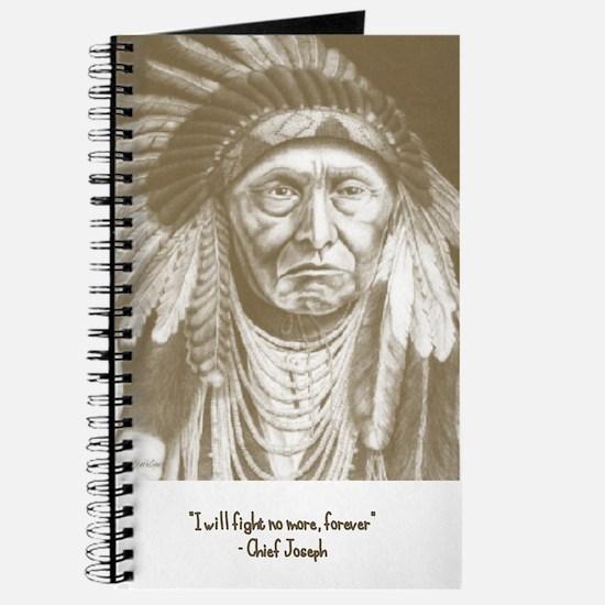 Unique Chief joseph Journal
