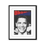 Obama RFK '68-Style Framed Panel Print
