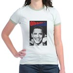 Obama RFK '68-Style Jr. Ringer T-Shirt