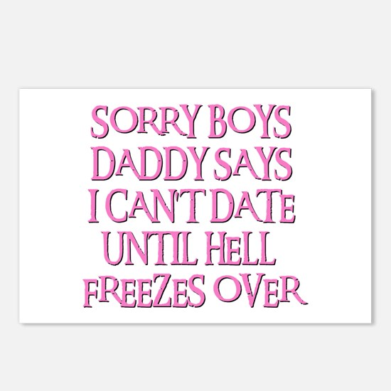 UNTIL HELL FREEZES OVER Postcards (Package of 8)