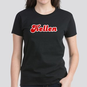 Retro Kellen (Red) Women's Dark T-Shirt