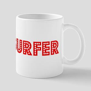 Retro Windsurfer (Red) Mug