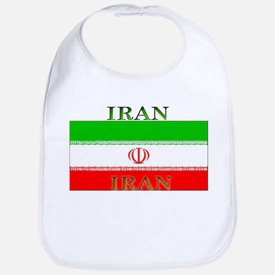 Iran Iranian Flag Bib