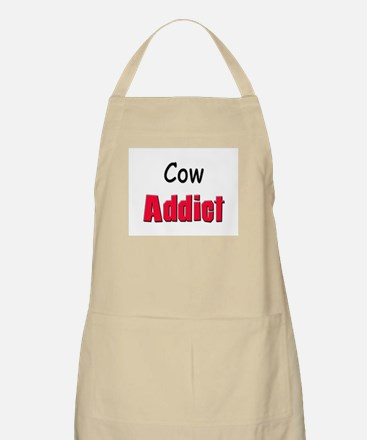 Cow Addict BBQ Apron