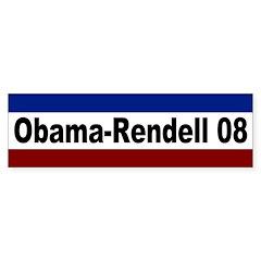 Obama-Rendell 2008 bumper sticker