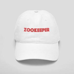 Retro Zookeeper (Red) Cap