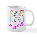 Love is never wrong Mug