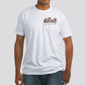 Stonehenge Rocks RD Fitted T-Shirt