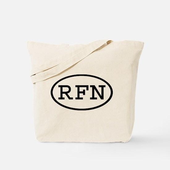 RFN Oval Tote Bag