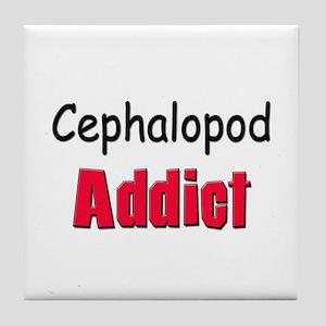 Cephalopod Addict Tile Coaster