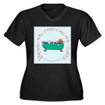 Puppy In The Tub Plus Size T-Shirt