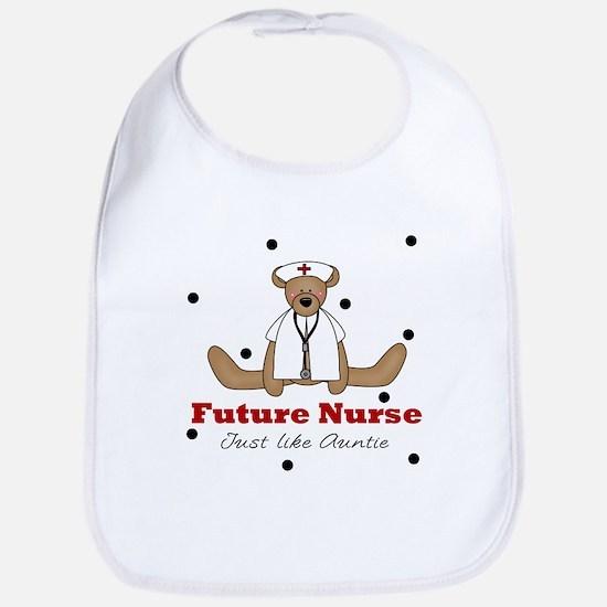 Future Nurse Like Auntie Baby Toddler Infant Bib