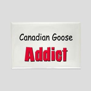 Canadian Goose Addict Rectangle Magnet