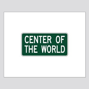 Center Of The World, OH (USA) Small Poster