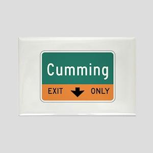 Cumming, GA (USA) Rectangle Magnet