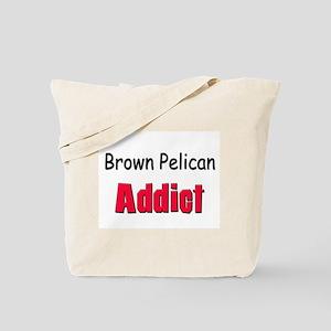Brown Pelican Addict Tote Bag
