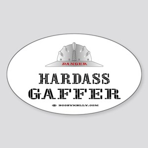 Gaffer/Foreman Oval Sticker