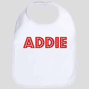 Retro Addie (Red) Bib