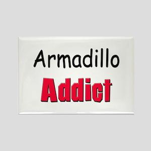 Armadillo Addict Rectangle Magnet