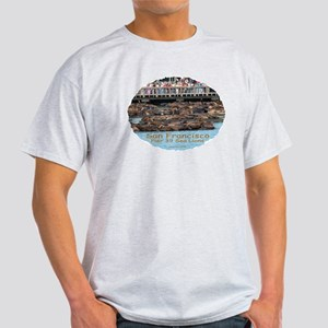 SF Pier 39 Sea Lions - Ash Grey T-Shirt