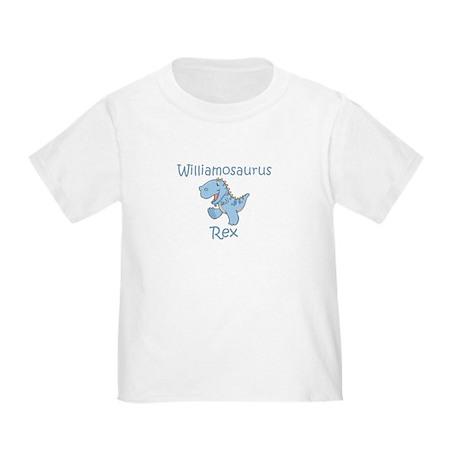 Williamosaurus Rex Toddler T-Shirt