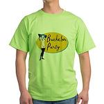 Stripper Bachelor Party Green T-Shirt