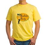 Stripper Bachelor Party Yellow T-Shirt