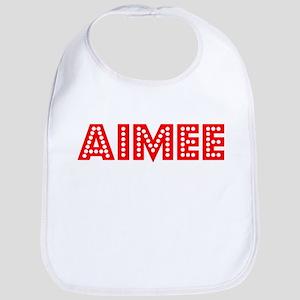 Retro Aimee (Red) Bib
