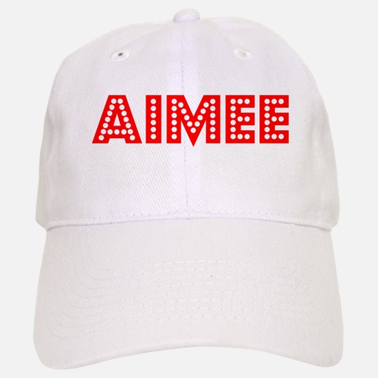 Retro Aimee (Red) Baseball Baseball Cap