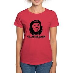El Reagan Viva Revolucion Women's Dark T-Shirt