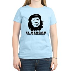 El Reagan Viva Revolucion Women's Light T-Shirt
