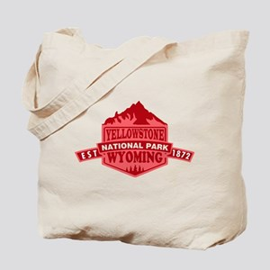 Yellowstone - Wyoming, Montana, Idaho Tote Bag