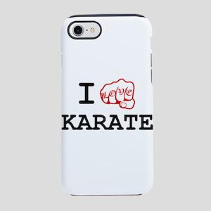 I Love Karate iPhone 8/7 Tough Case