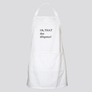 Due Diligence BBQ Apron