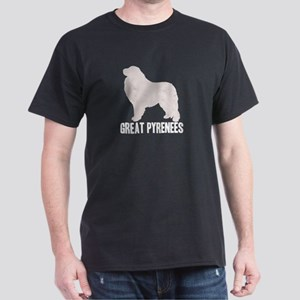 Retro Great Pyrenees Dark T-Shirt