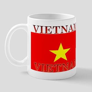 Vietnam Vietnamese Flag Mug