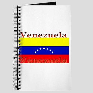 Venezuela Venezuelan Flag Journal