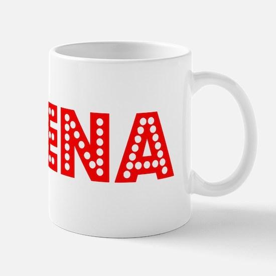 Retro Aleena (Red) Mug