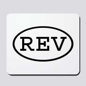 REV Oval Mousepad