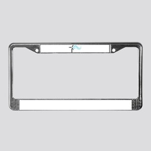 Wind Energy License Plate Frame