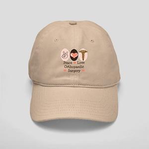 Peace Love Orthopaedic Surgery Cap