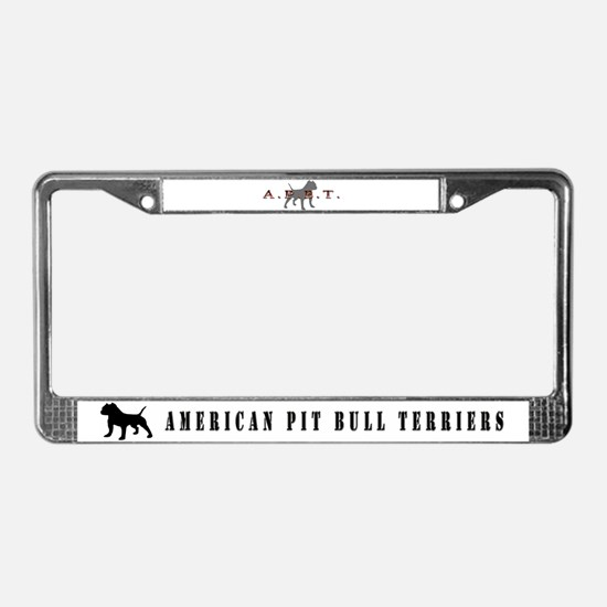 every dog has his day pit bull design License Plat