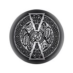 """Celtic Dragons 3.5"""" Button"""